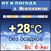 Ну и погода в Нефтекамске - Поминутный прогноз погоды